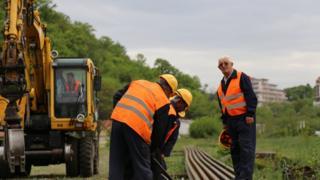 中国中土集团承建了塞尔维亚铁路修复改造项目。