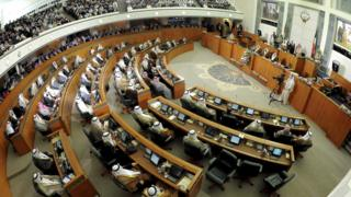 general view of Kuwait's National Assembly (file pic)