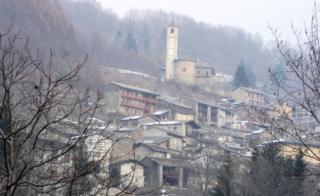 A view of Ostana
