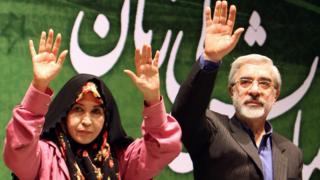 میرحسین موسوی، زهرا رهنورد