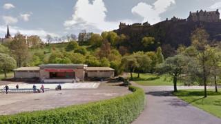 Edinburgh's Ross Bandstand