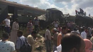 Поезда в Египте