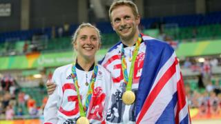 Olympic champions Laura and Jason Kenny