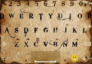 An example of an Ai.type keyboard theme