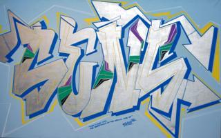 Sens - graffiti by Bando
