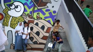 Menggambar potret jakarta dari masyarakat gusuran for Mural kalijodo