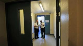Prison officers at Wormwood Scrubs