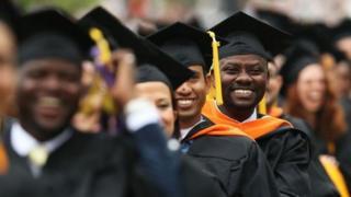 Темнокожие студенты