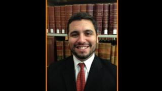 Fire caught Florida lawyer's trousers