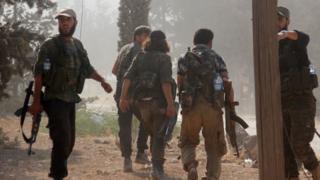 جنگجویان جبهه فتح شام