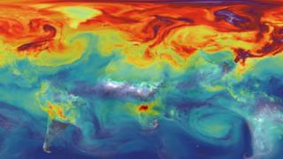 CO2 levels globally