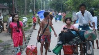 মিয়ানমার, বাংলাদেশ, বিবিসি
