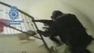 Spanish drugs raid