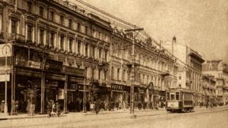 Таким увидели Крещатик крестьяне в 1932 году