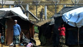 Qaxootiga Rohingya ee ka baxsanaya Myanmar