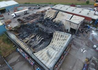 Pocklington fire damage