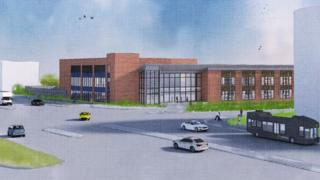 Artist's impression of the new hospital