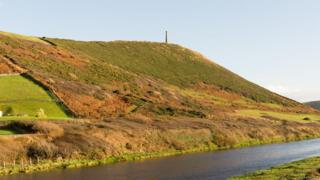 Pen Dinas hillfort site