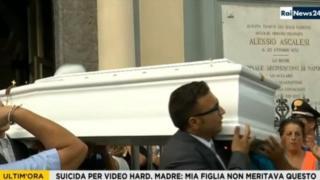 Tiziana'nın cenazesi
