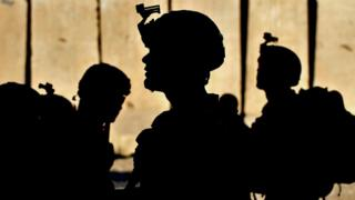 Stock photo shows US military troops in Kunar province, Afghanistan