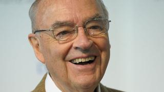 Close up of former senator's smiling face