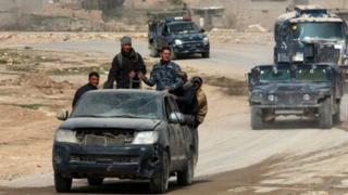 Musul Operasyonuna katılan Irak güçleri