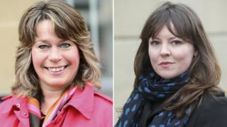 Michelle Thomson and Natalie McGarry