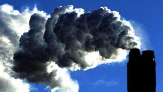 Coal-fired plant generating power