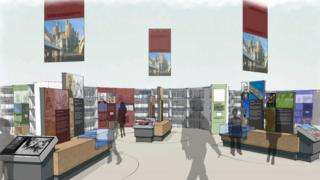 An artist's impression of the new culture centre