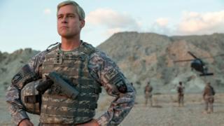 Brad Pitt en Máquina de Guerra.