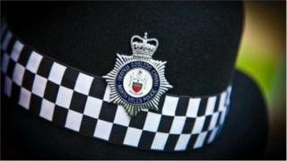 North Wales Police hat