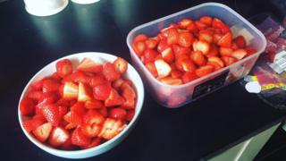 Bargain strawberries