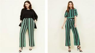 Contrasting New Look trousers