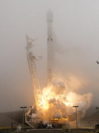 Iridium launch