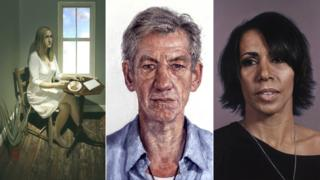 J.K. Rowling, Ian McKellen and Kelly Holmes