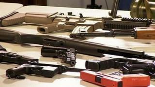 guns seized during an amnesty