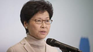 香港前政务司司长林郑月娥