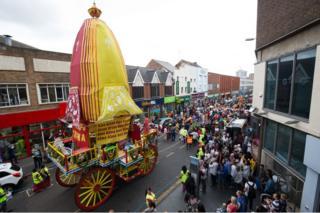 Hare Krishna chariot