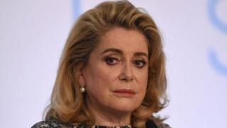 French actress Catherine Deneuve in May 2015