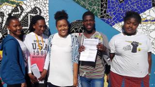 Ikamva Youth Students in Nyanga