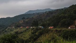 Un convoi humanitaire encadré par l'armée dans le Nord-Kivu (illustration).