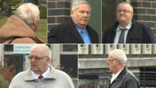 Gary Cooke, David Lightfoot, Roy Norry, George Neil Phoenix a Edward Huxley