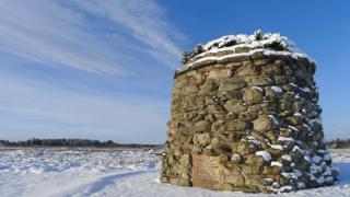 Memorial at Culloden Battlefield