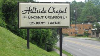 The Hillside Chapel Crematory in Cincinnati, Ohio