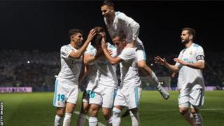 Zinedine Zidane, l'entraineur du Real Madrid, a effectué six changements depuis la victoire de l'équipe (3-0) dimanche sur Eibar