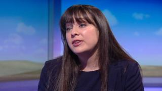 Amelia Womack. deputy leader of the Green Party