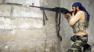 Suriye, isyancı gruplar.