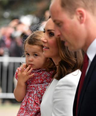 Шарлотта, Кейт и Уильям