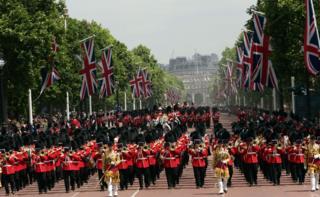 парад лондон