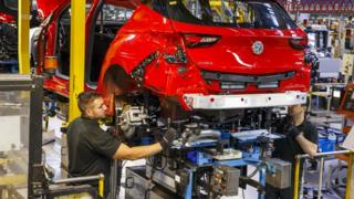 Vauxhall Astra production at Ellesmere Port